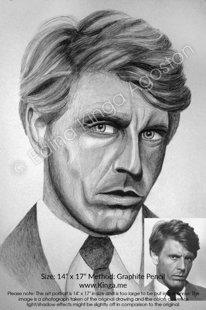 Edward Fox by Kinga